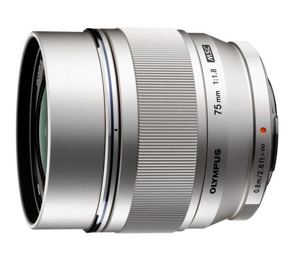 Image of OLYMPUS M.ZUIKO DIGITAL ED 75 mm f/1.8 Telephoto Prime Lens