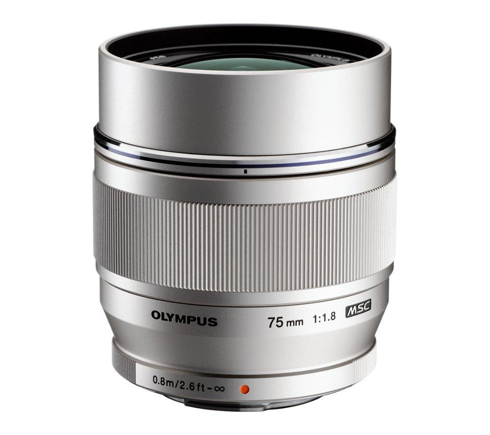OLYMPUS M.ZUIKO DIGITAL ED 75 mm f/1.8 Telephoto Prime Lens