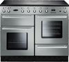 RANGEMASTER Toledo 110 Induction Range Cooker - Stainless Steel & Chrome