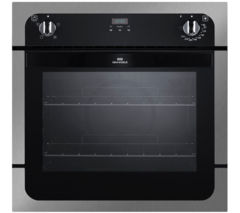 NEW WORLD NW601FP Electric Oven - Black & Stainless Steel