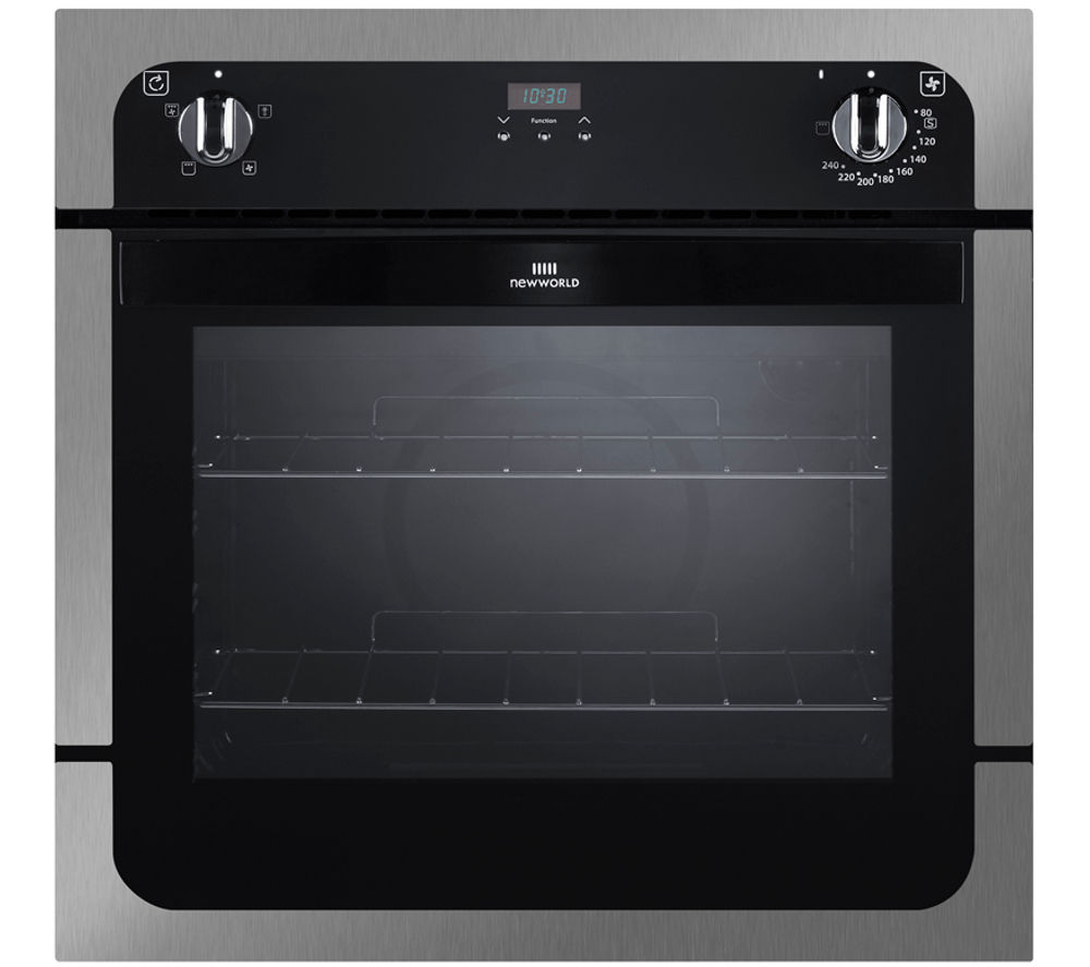 New World Kitchen Appliances Buy New World Nw601fp Electric Oven Black Stainless Steel