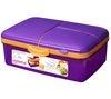 SISTEMA Slimline Quaddie rectangular 1.5-litre box