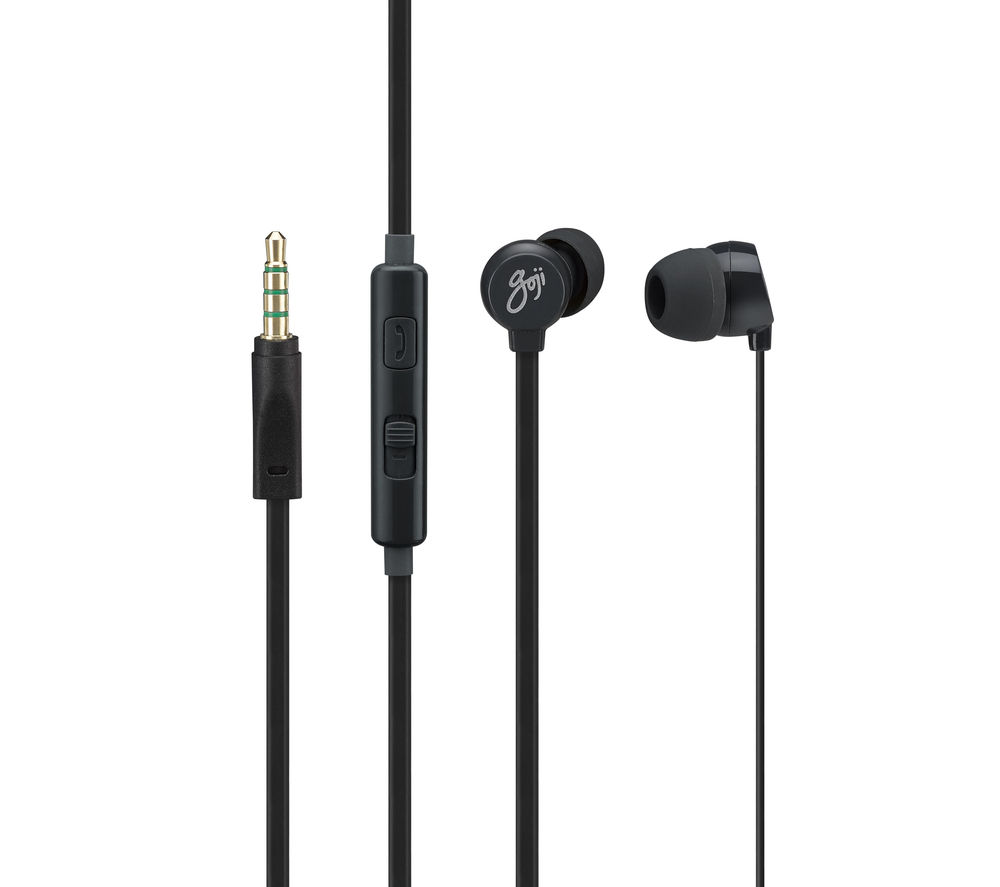 Goji GVIBEBK14 Headphones  Black Black