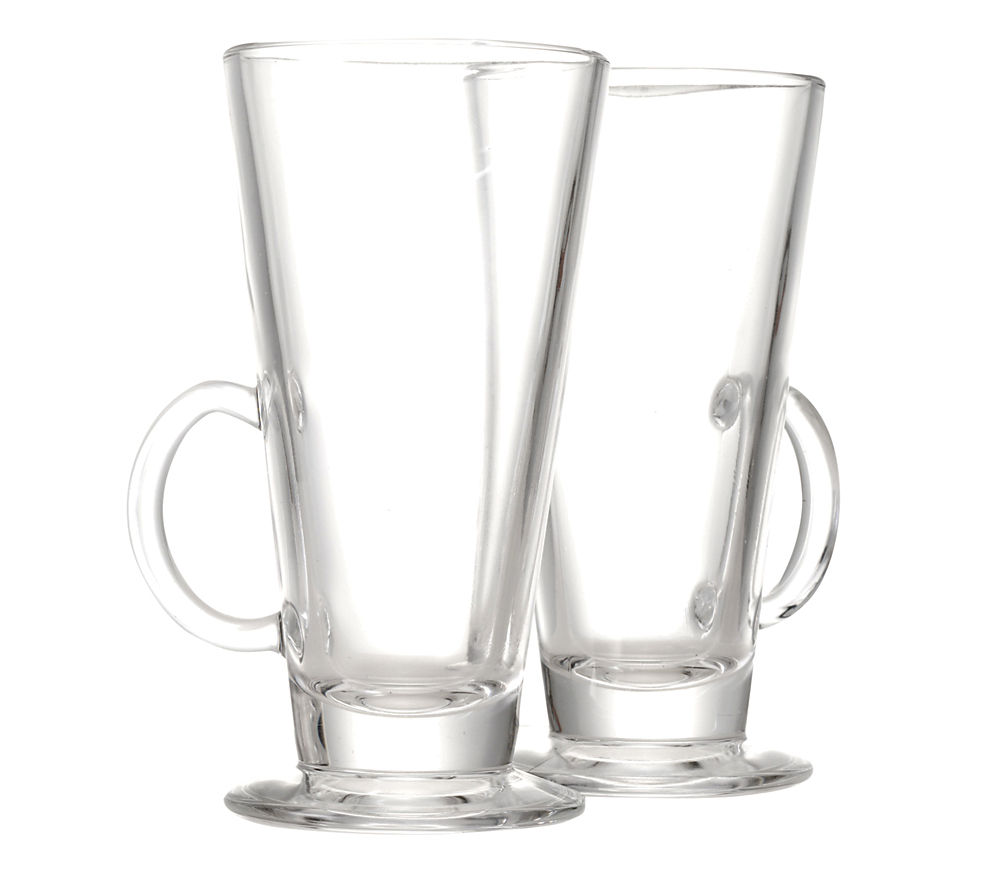 EDDINGTONS Latte Glasses - Set of 2