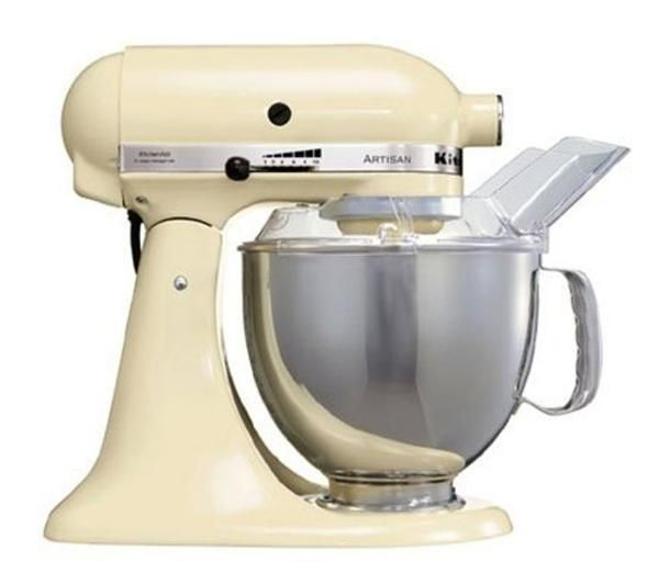 KITCHENAID 5KSM150PSBAC Artisan Stand Mixer - Almond Cream
