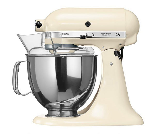 buy kitchenaid 5ksm150psbac artisan stand mixer almond. Black Bedroom Furniture Sets. Home Design Ideas