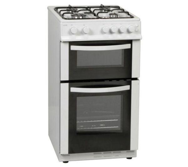 LOGIK LFSTG50W Gas Cooker - White
