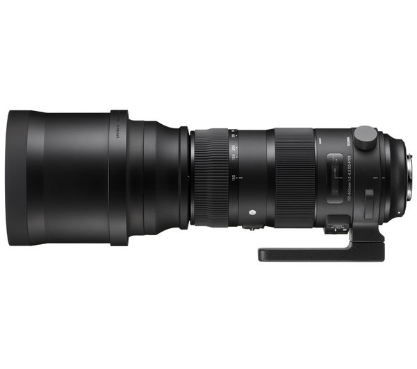 Image of SIGMA 150-600 mm f/5-6.3 DG OS HSM S Telephoto Zoom Lens - for Nikon