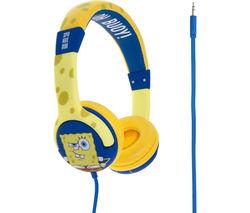 SPONGEBOB Kids Headphones - Yellow