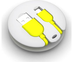 KIT PWRKEYWH USB to Micro USB Cable - 0.21 m