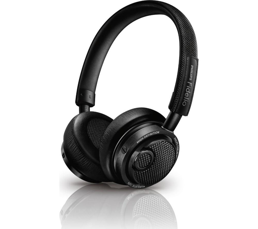 PHILIPS Fidelio M2BTBK Wireless Bluetooth Headphones - Black