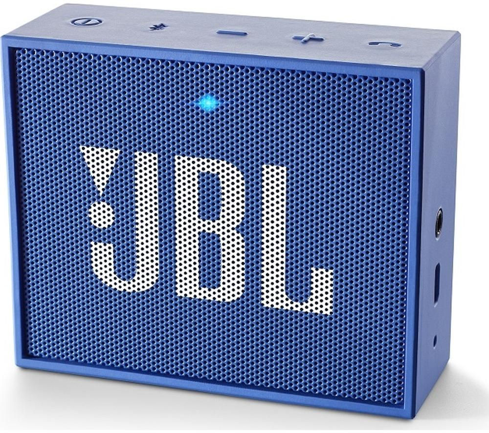 JBL GO Portable Wireless Speaker - Blue