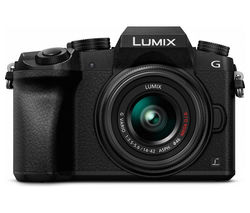 PANASONIC Lumix DMC-G7EB-K Compact System Camera with Lumix G VARIO 14-42 mm f/3.5-5.6 II ASPH MEGA OIS Zoom Lens