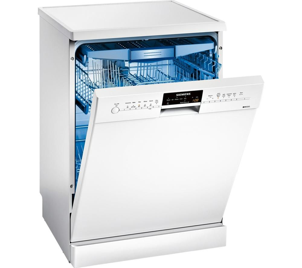 Siemens speedmatic sn26m292gb full size dishwasher white for Siemens speedmatic