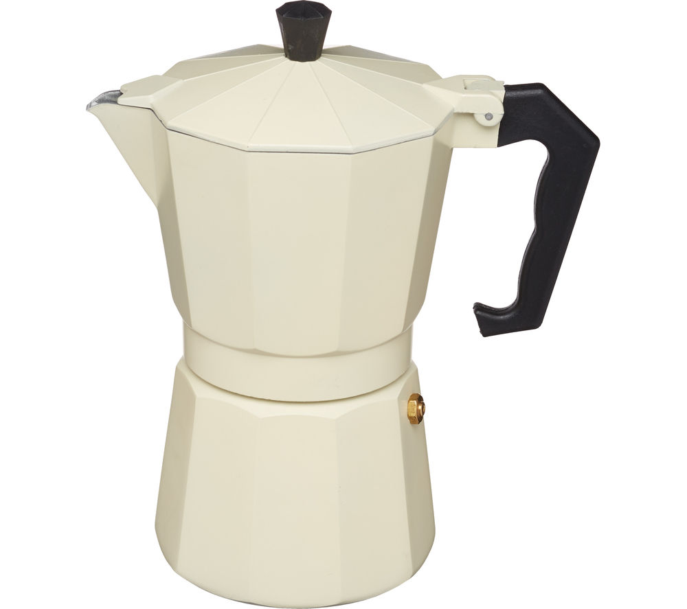 Image of LE'XPRESS Italian Style Espresso Coffee Maker - Cream, Cream