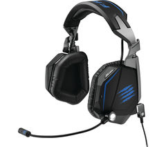 MAD CATZ F.R.E.Q TE 7.1 Gaming Headset - Black & Blue