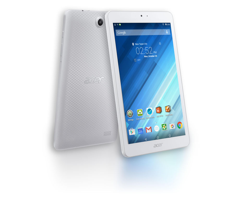 "Image of Acer B1-850 Iconia One 8"" Tablet - 16 GB, White, White"