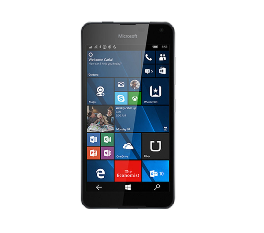 MICROSOFT Lumia 650 - 16 GB, Black