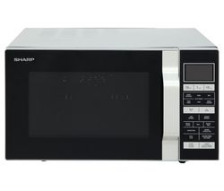 SHARP R860SLM Combination Microwave - Silver & Black