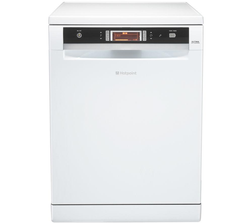 HOTPOINT  Ultima FDUD 51110P Fullsize Dishwasher  White White