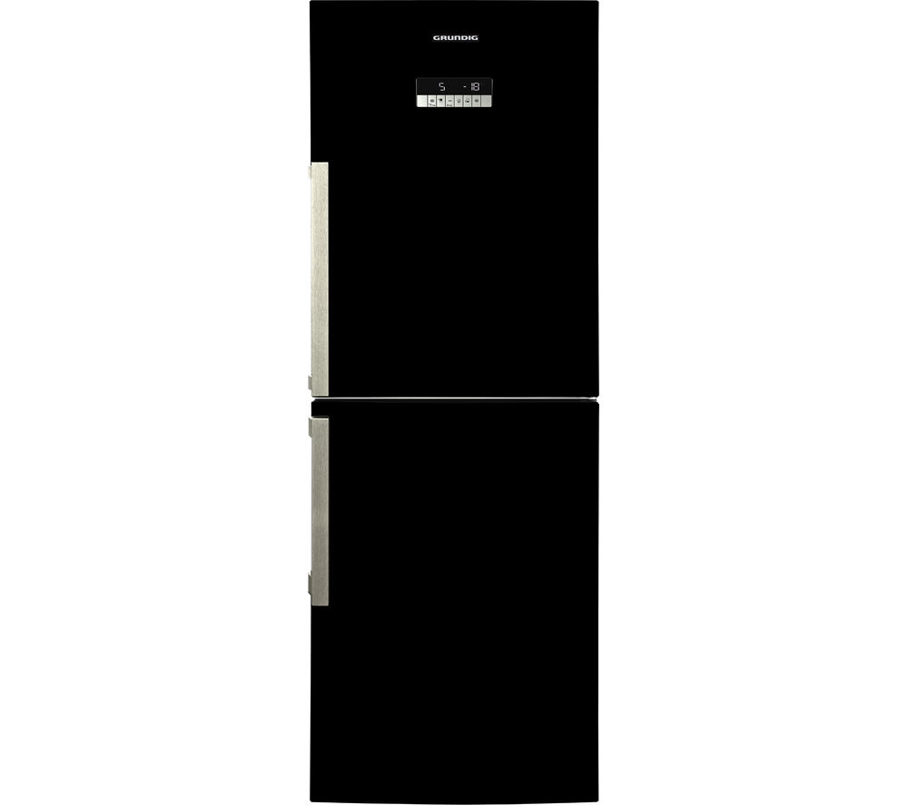 GRUNDIG  GKN16910B Fridge Freezer  Black Black