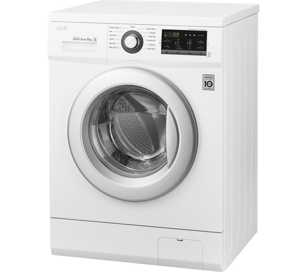 LG  FH4G6TDN2 Washing Machine  White White