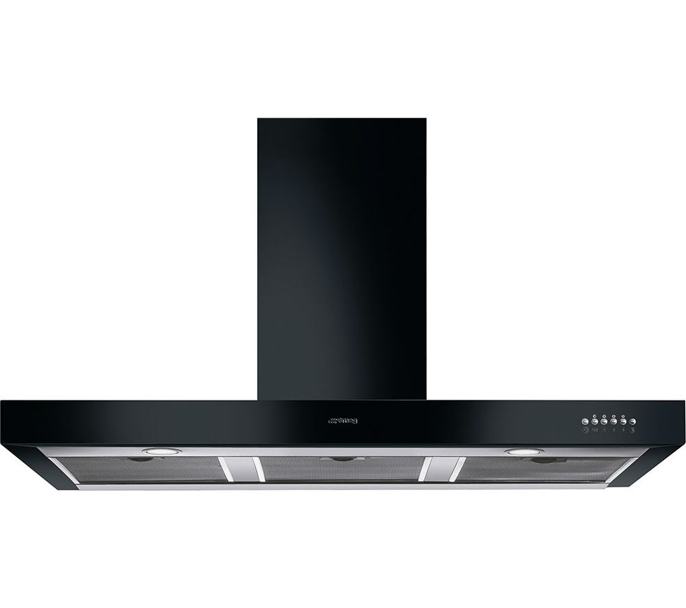 SMEG  Symphony KS110BLE Chimney Cooker Hood  Black Black
