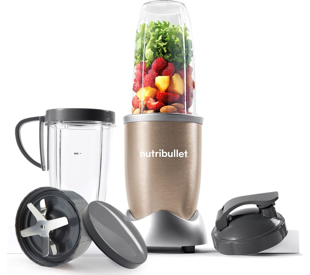 Uncategorized Currys Small Kitchen Appliances buy nutribullet pro 900 series nblp9 blender champagne free champagne