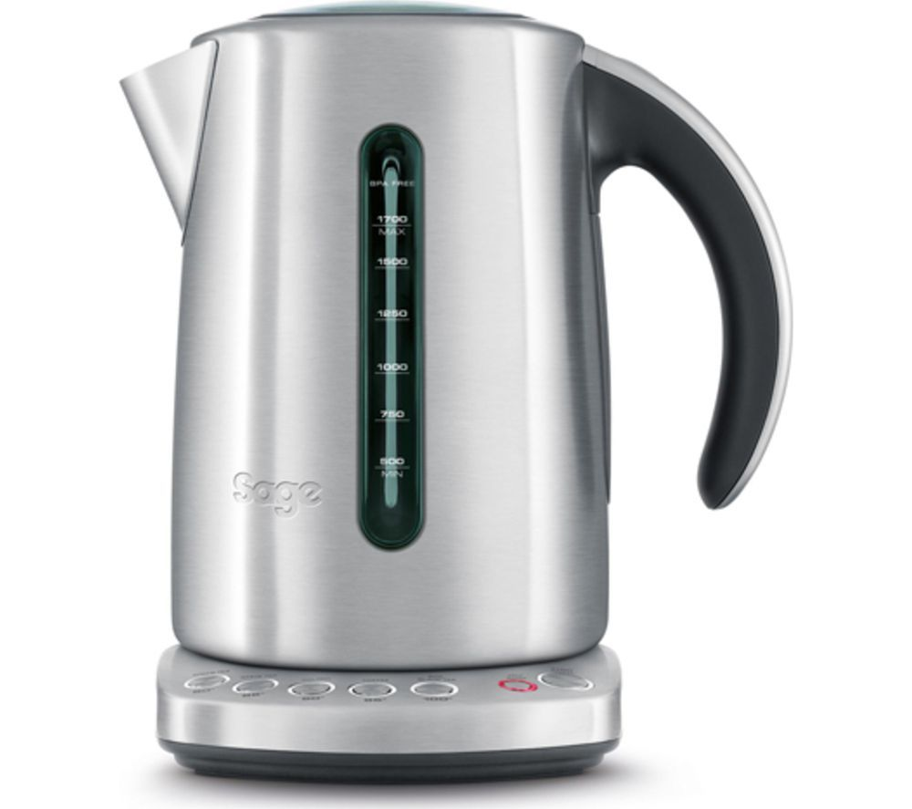SAGE  by Heston Blumenthal BKE820UK Smart Jug Kettle  Silver Silver