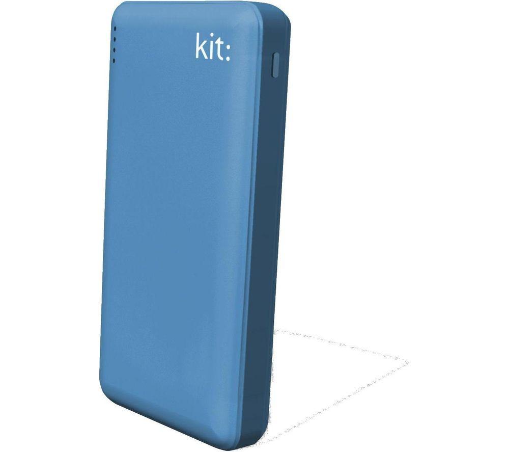 KIT FRESH 12000 mAh Portable Power Bank - Blue