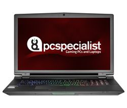 "PC SPECIALIST Octane III RS17-XT 17.3"" Gaming Laptop - Black"