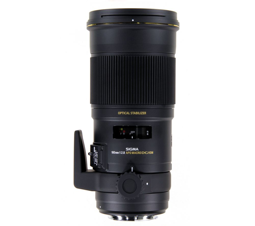 SIGMA 180mm f/2.8 EX APO DSG HSM Macro Lens - for Canon