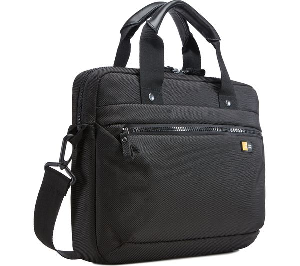 "Image of CASE LOGIC Bryker Attache 11"" Laptop Case - Black"
