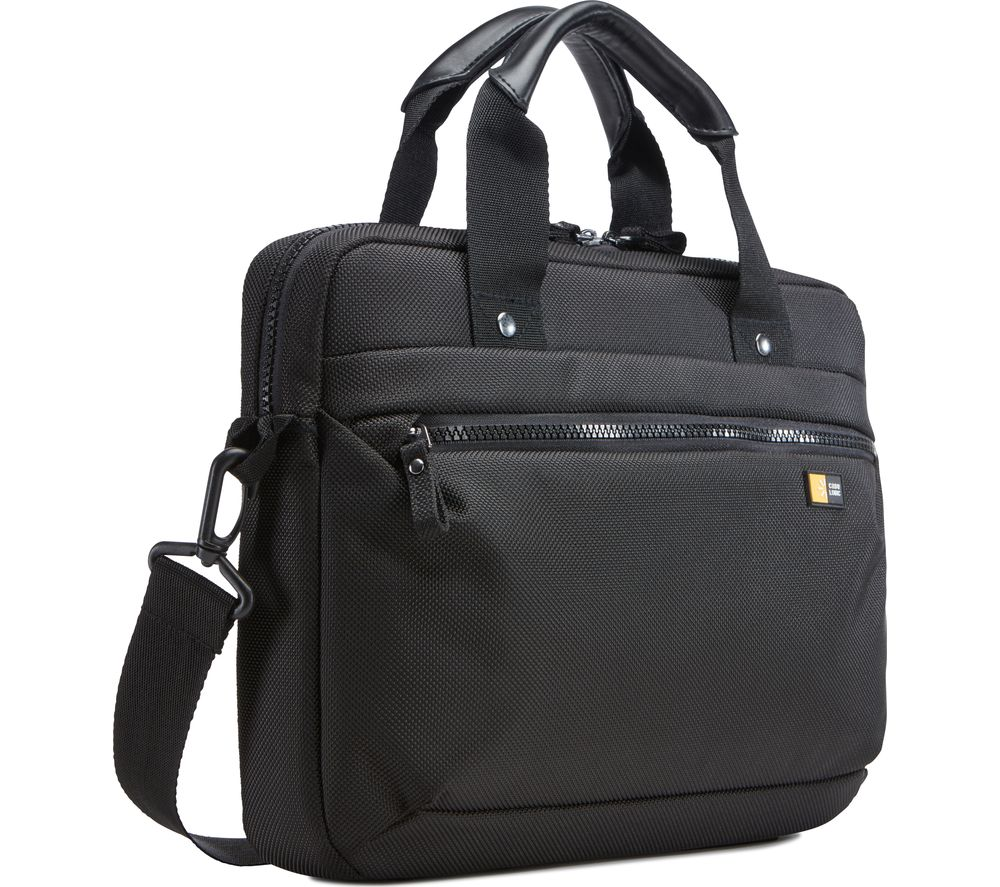 CASE LOGIC  Bryker Attache 11 Laptop Case - Black, Black