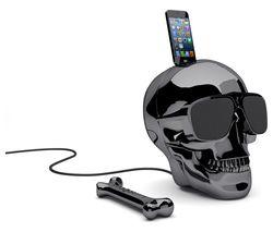 JARRE Aeroskull HD+ Wireless Speaker - Chrome Black