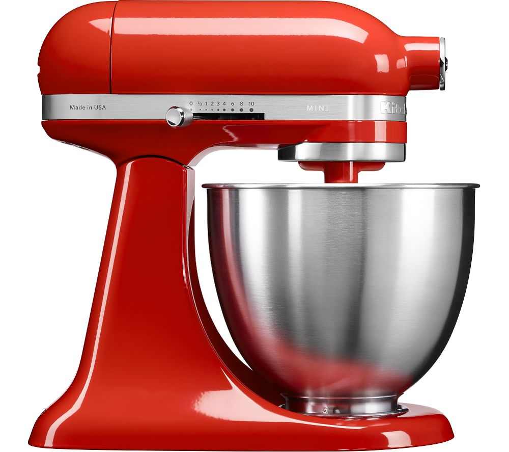 buy kitchenaid artisan mini 5ksm3311xbht stand mixer hot sauce free delivery currys. Black Bedroom Furniture Sets. Home Design Ideas