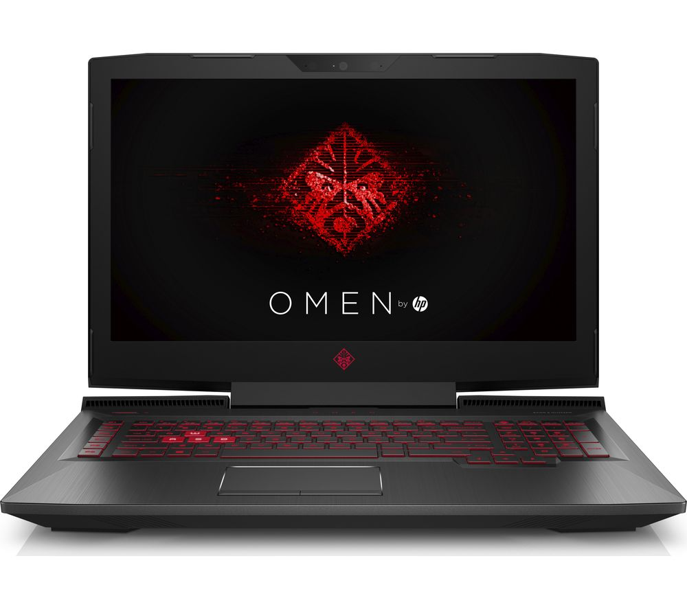 "HP OMEN 17-an051na 17.3"" Gaming Laptop - Shadow Black + Office 365 Personal"