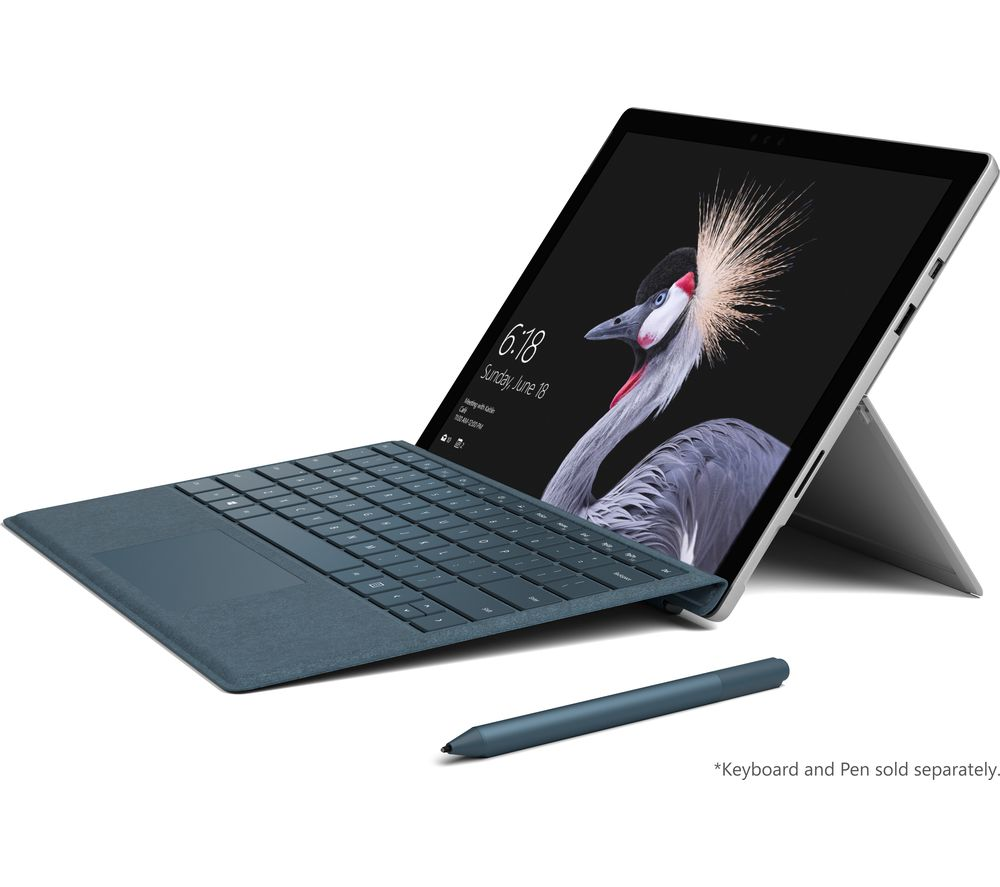MICROSOFT Surface Pro - 128 GB + Office 365 Personal + LiveSafe Unlimited 2017 - 1 year
