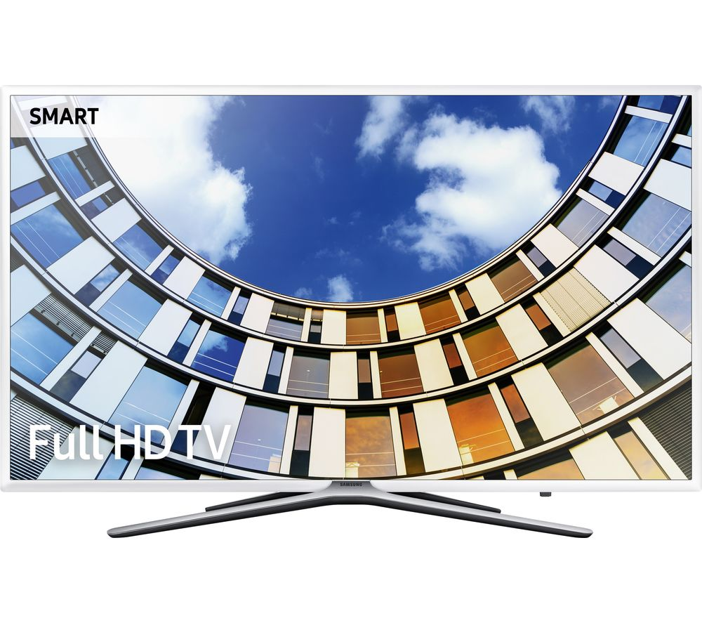 "SAMSUNG UE55M5510 55"" Smart LED TV - White"