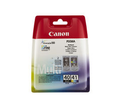CANON PG-40/CL-41 Black & Colour Ink Cartridge - Multipack
