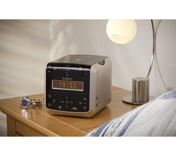 dab radio alarm clock currys buy sandstrom sdabxcr13 dab fm clock radio black free logik dab. Black Bedroom Furniture Sets. Home Design Ideas