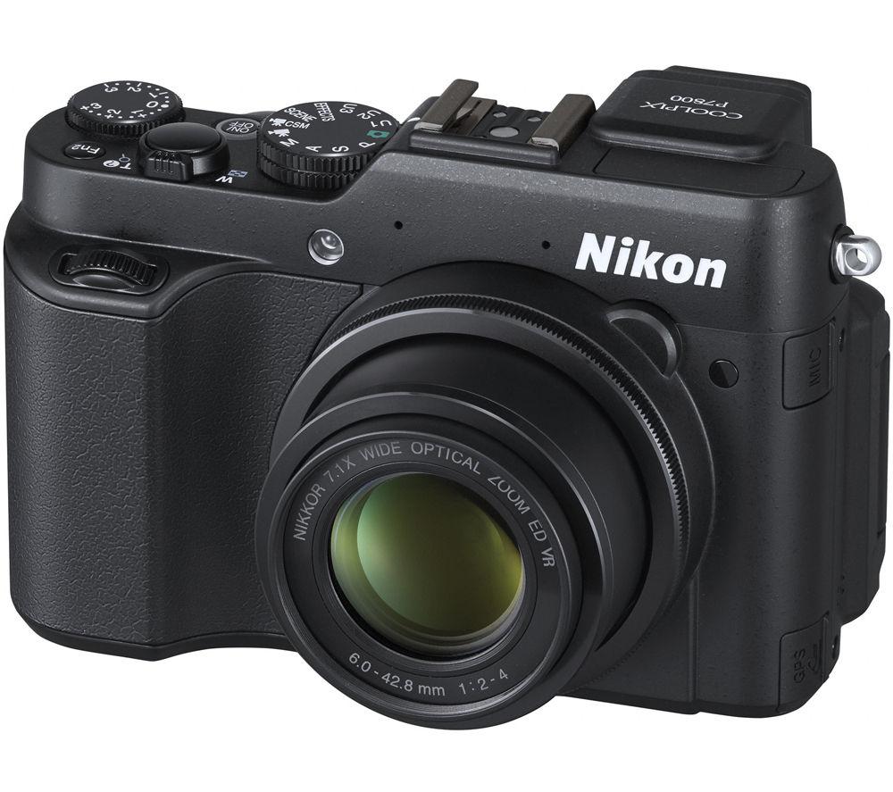 NIKON COOLPIX P7800 High Performance Compact Digital Camera - Black