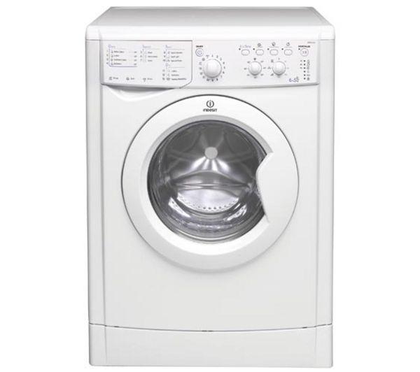 buy indesit iwdc6125 washer dryer white free delivery. Black Bedroom Furniture Sets. Home Design Ideas