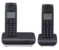 ESSENTIALS C2DECT11 Cordless Phone - Twin Handsets