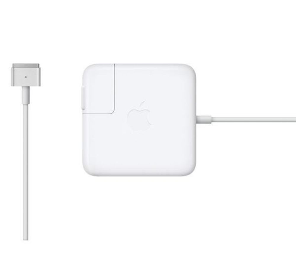Image of Apple MagSafe 2 45 W Power Adapter - White, White