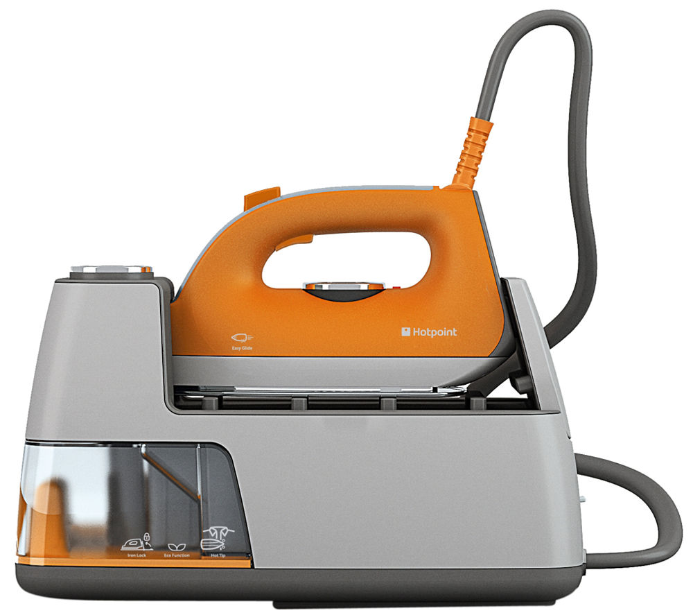 Steam Generator Iron ~ Hotpoint sgc aa uk steam generator iron orange grey