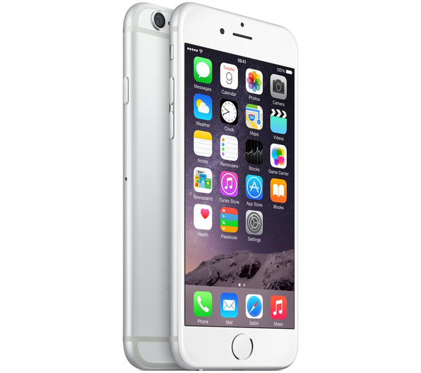 Buy APPLE iPhone 6 - 16 GB, Silver | Free Delivery | Currys