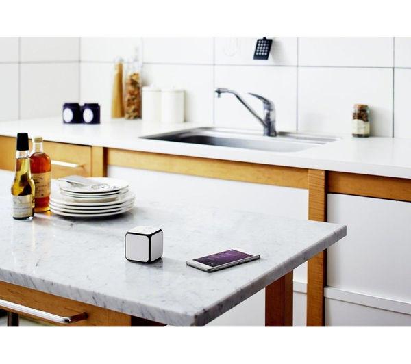Image of SONY SRS-X11W Portable Wireless Speaker - White