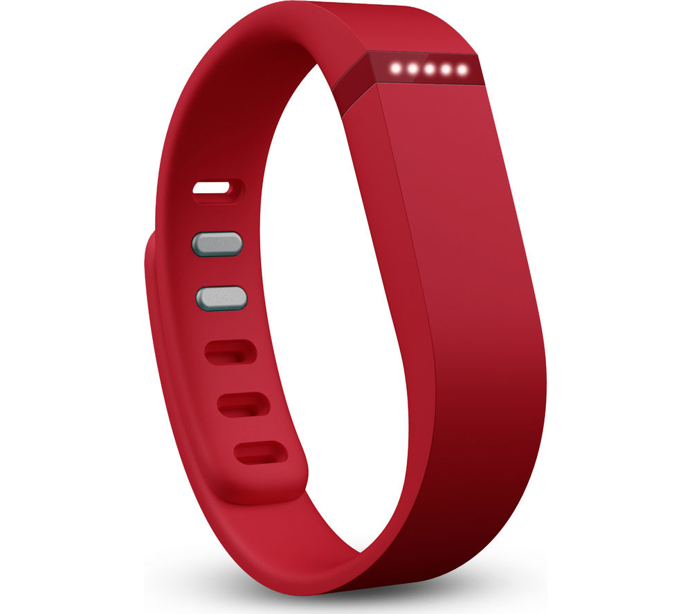 FITBIT Flex Activity and Sleep Wristband - Red