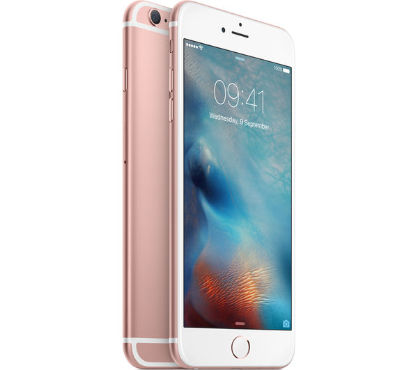 buy apple iphone 6s plus 64 gb rose gold free. Black Bedroom Furniture Sets. Home Design Ideas